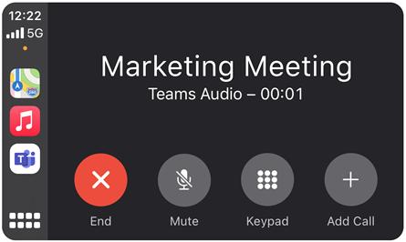 Microsoft Teams - Siri